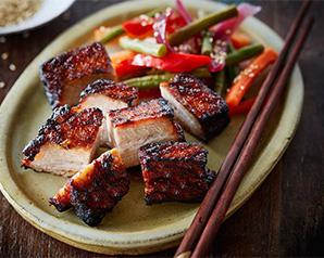 Boczek w orientalnym stylu BBQ