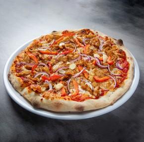 Pizza  wegańska - Kebab