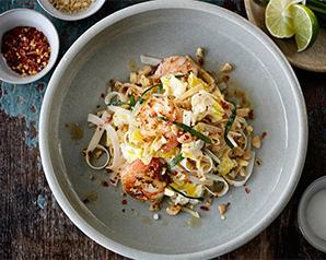 Pad Thai – orientalny makaron z krewetkami