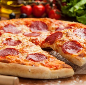 Pizza Salami - Cacciatore