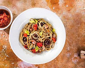 Spaghetti z wołowymi klopsikami